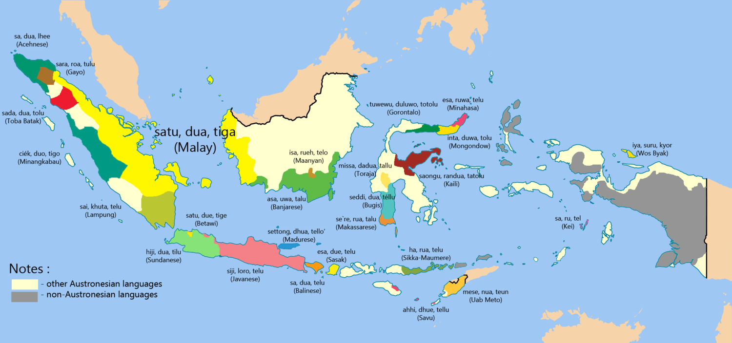 6 Eye-Opening Maps Of Indonesia You Probably Haven\'t Seen ...