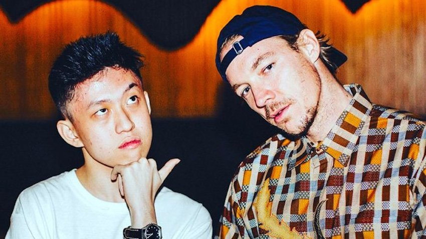 Rich Chigga and Diplo Bank Roll