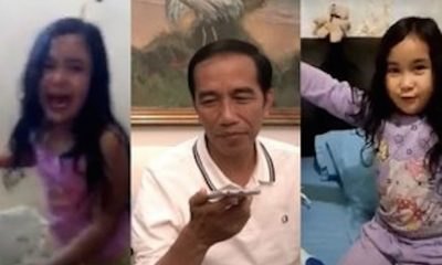 Jokowi Phone Call