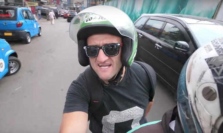 Casey Neistat on Gojek in Jakarta