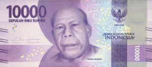 Rp 10 000 Bank Note