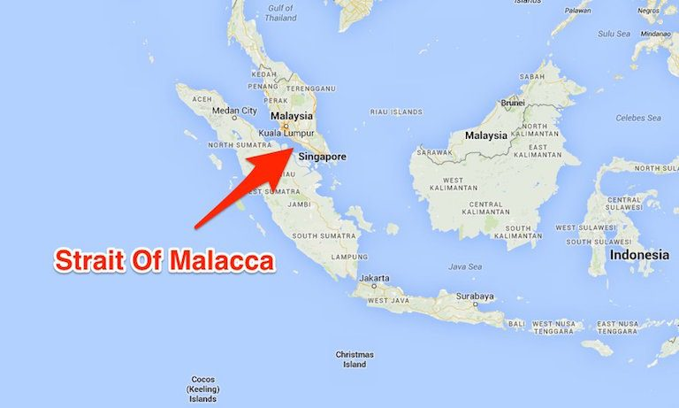 Strait Of Malacca Map 14th Choke Point – How Vital Are The Malacca Straits To Global