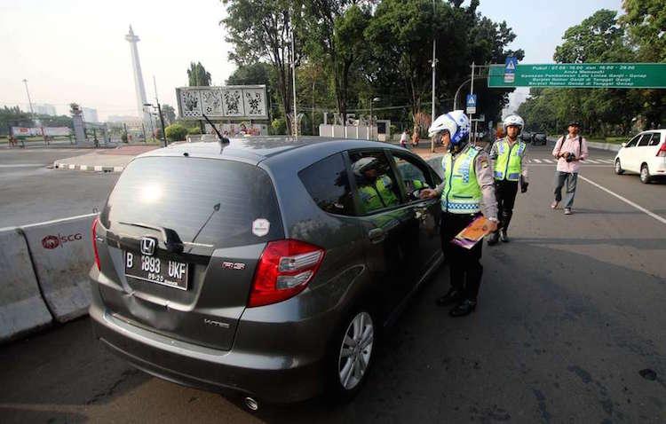 Genap Ganjil Mobil Jakarta Sudirman