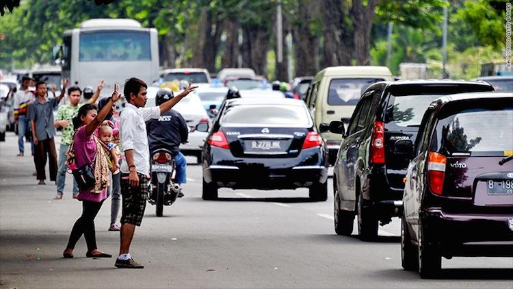 Jockey Jalan Sudirman Jakarta