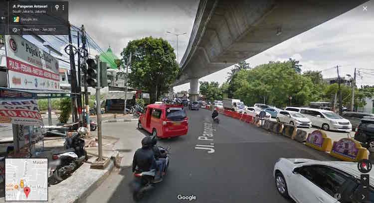 Simpang Tiga Jakarta Indonesia
