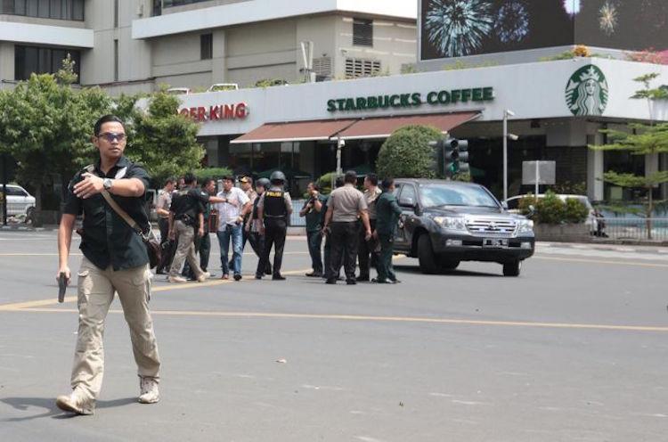 Sarinah Terrorism Jakarta