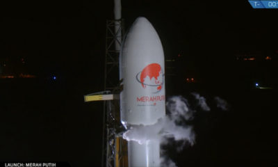 Merah Putih Satellite Telkom 4 SpaceX