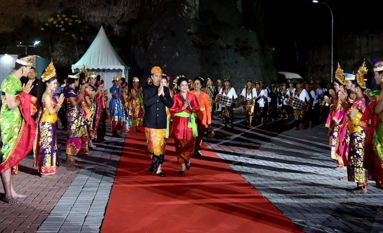 Jokowi - Garuda Wisnu Kencana Bali 2