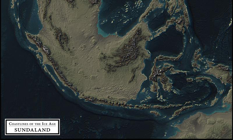 this is what southeast asia looked like during the ice age